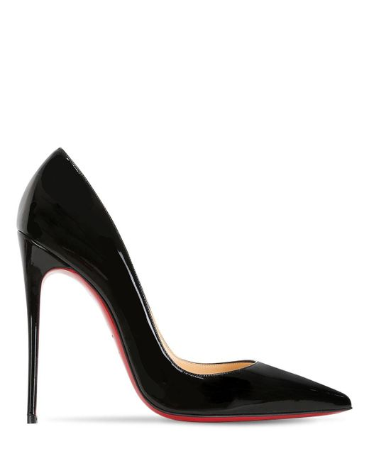 Christian Louboutin So Kate パテントレザーパンプス 120mm Multicolor