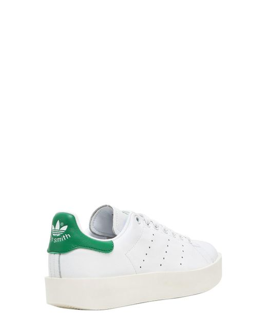 Lyst - Adidas Originals Stan Smith Bold Sneakers in White - Save ... 0fee9e8fa7