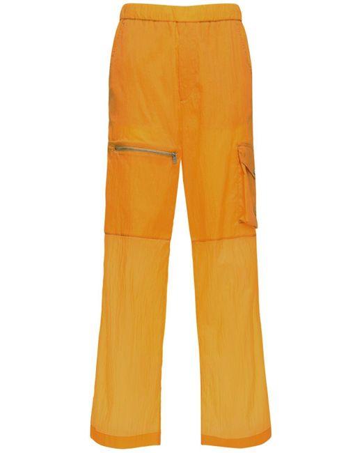 メンズ Moncler Genius 1952 リップストップナイロンカーゴパンツ Orange