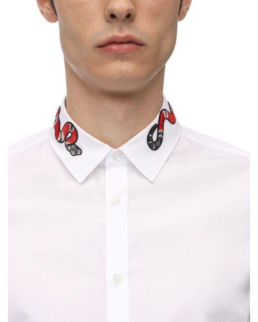 メンズ Gucci Dukeオックスフォードシャツ White