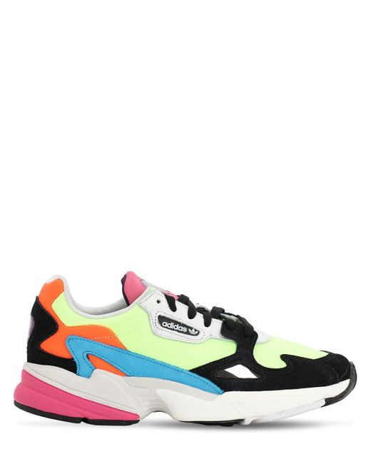 Adidas Originals Multicolor Falcon Sneakers for men
