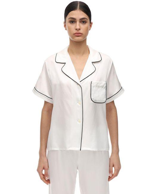 Пижамный Топ Katelyn Morgan Lane, цвет: White