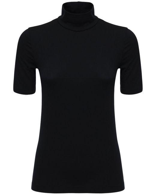 "T-shirt Sostenibile ""aurora"" In Modal di Wolford in Black"