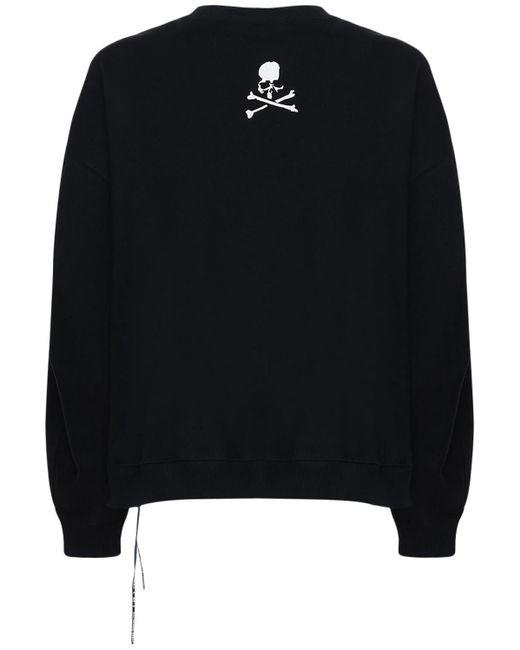 メンズ MASTERMIND WORLD Boxy コットンウェットシャツ Black