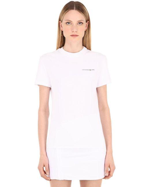 LUISAVIAROMA Cb Hoyo X Lvr コットンtシャツ White