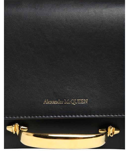 Клатч Из Натуральной Кожи The Story Alexander McQueen, цвет: Black