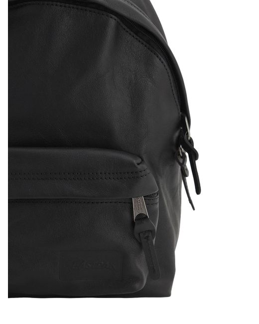 Кожаный Рюкзак 10л Eastpak, цвет: Black