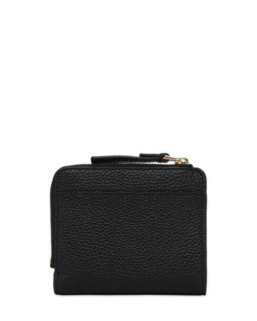 Portafoglio In Pelle Con Zip di Marc Jacobs in Black