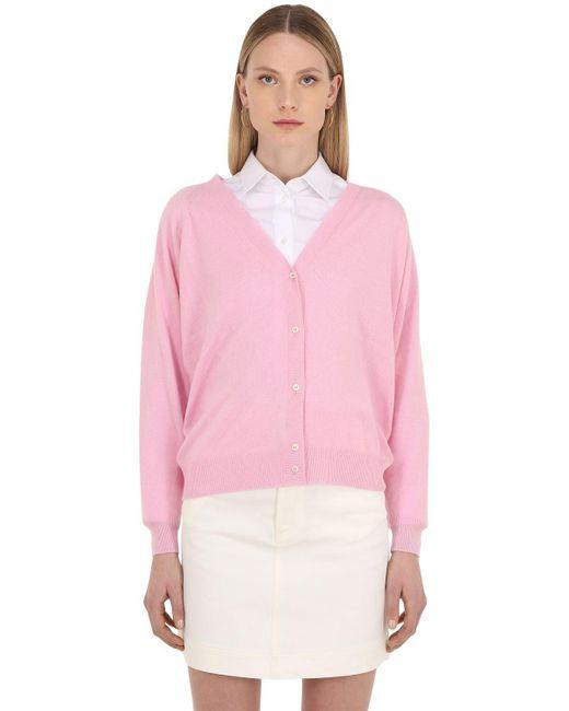 LUISAVIAROMA カシミア Vネックセーター Pink