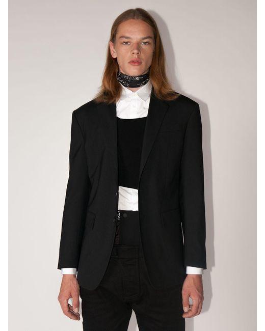 メンズ DSquared² Lvr Exclusive New York ウールブレンドジャケット Black
