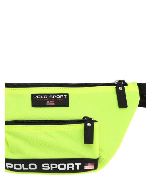 メンズ Polo Ralph Lauren ナイロンベルトバッグ Yellow