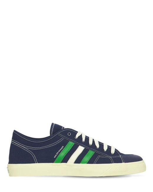 """Sneakers Basses """"wales Bonner Nizza"""" Adidas Originals pour homme en coloris Blue"""