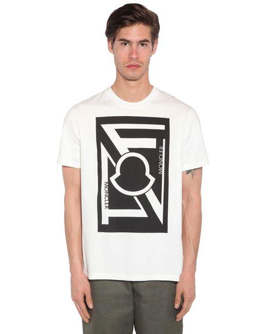 メンズ Moncler Genius Craig Green コットンジャージーtシャツ Multicolor