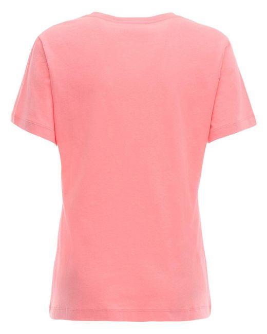 Gucci ジャージーtシャツ Pink