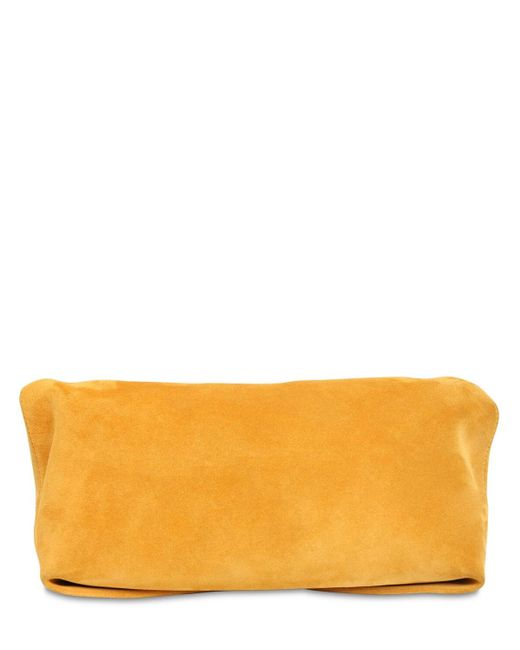 Клатч Из Мягкой Замши Alexander McQueen, цвет: Multicolor