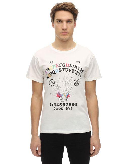 メンズ Passarella Death Squad Hardcore Will Never Die Tシャツ White