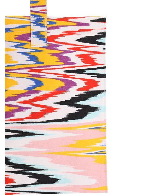 Missoni コットンキャンバストートバッグ Multicolor