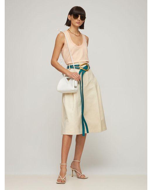 Кожаный Ремень 5cm Bottega Veneta, цвет: Multicolor