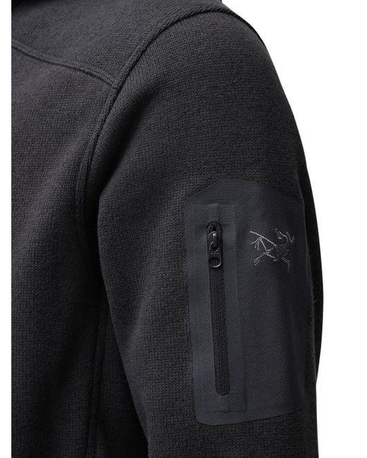 Свитшот На Молнии Arc'teryx для него, цвет: Black