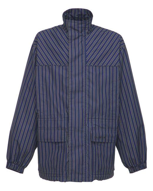 メンズ Balenciaga リップストップジャケット Blue