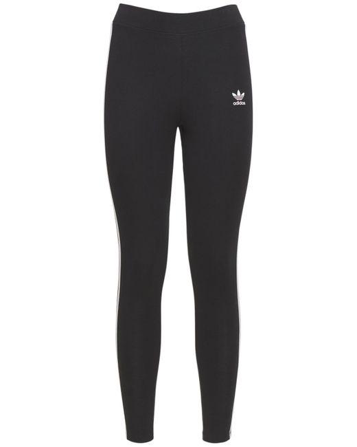 Adidas Originals 3 Stripes タイツ Black