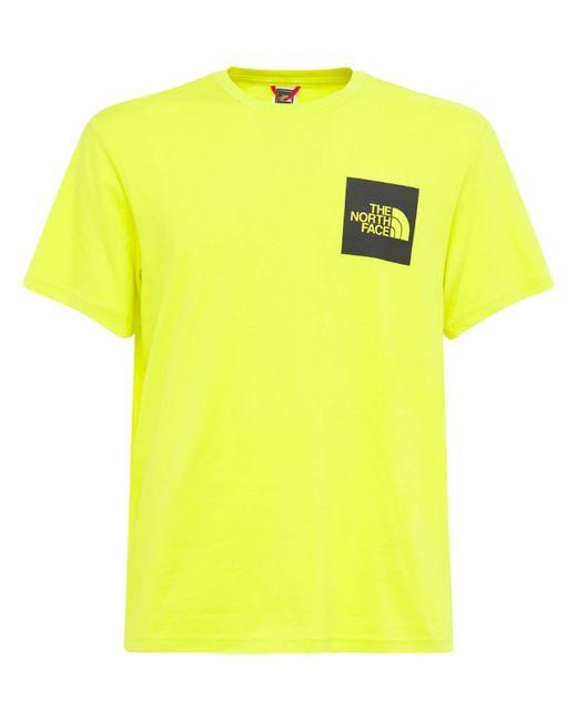 メンズ The North Face Fine コットンtシャツ Yellow