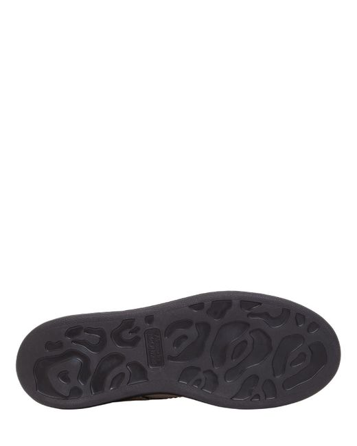 Кожаные Ботинки На Шнурках 40мм Alexander McQueen, цвет: Multicolor
