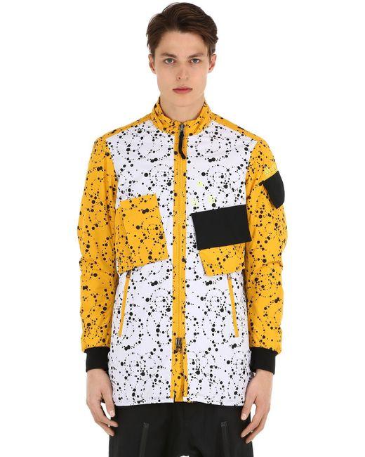 メンズ Nike Nikelab Acg 断熱リップストップジャケット Yellow