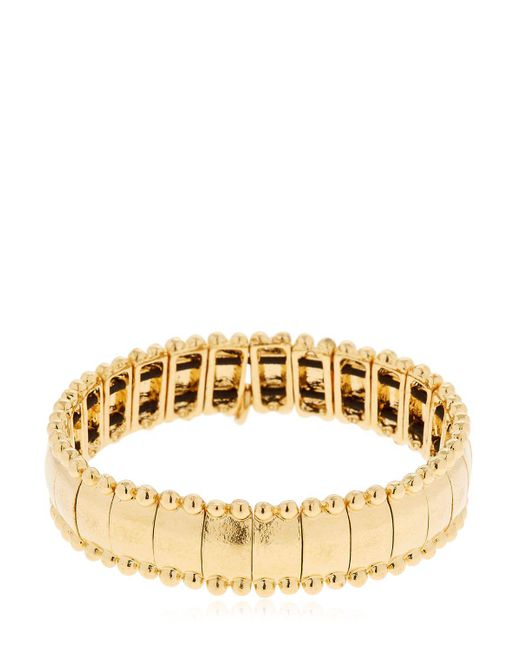 Philippe Audibert | Metallic Lou Gold Plated Bracelet | Lyst