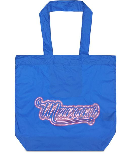 Isabel Marant Woom ナイロントートバッグ Blue