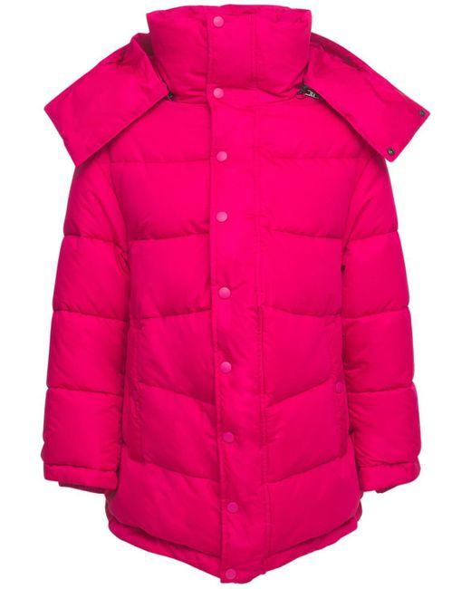 Balenciaga ナイロンパファージャケット Pink