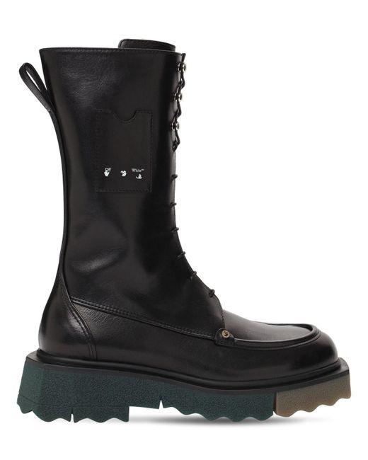 Ботинки В Стиле Милитари 45мм Off-White c/o Virgil Abloh, цвет: Black