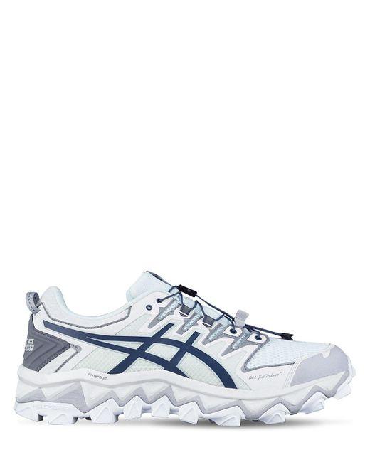 Asics Blue Gel-fujitrabuco 7 X C2h4 Sneakers for men