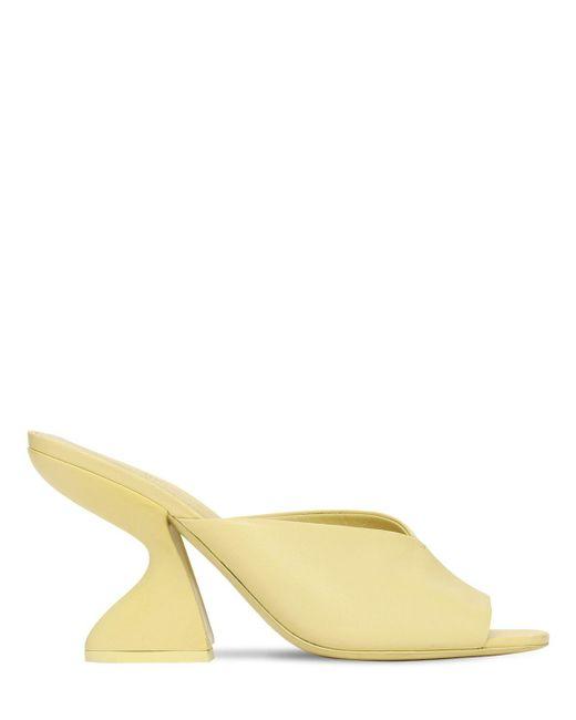 Кожаные Туфли-мюли Sansu 85mm Ferragamo, цвет: Multicolor