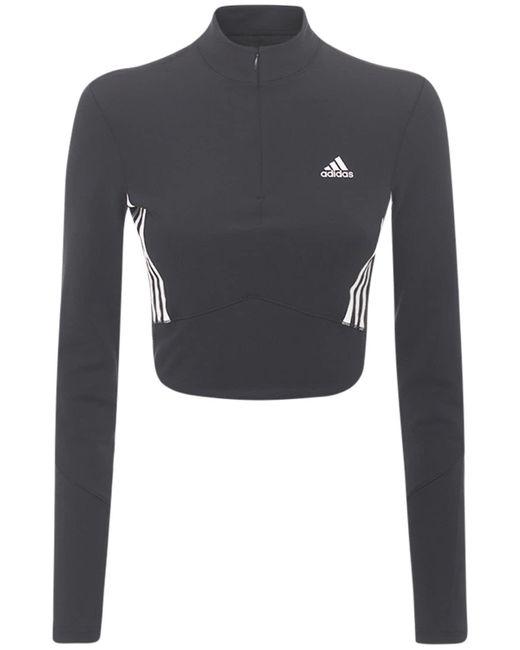 Adidas Originals クロップドtシャツ Black