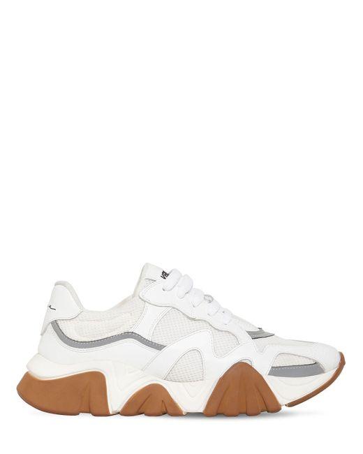 Кроссовки На Массивной Подошве Versace для него, цвет: White