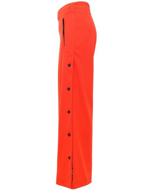 Брюки Из Хлопка Karlie Kloss Adidas Originals, цвет: Orange