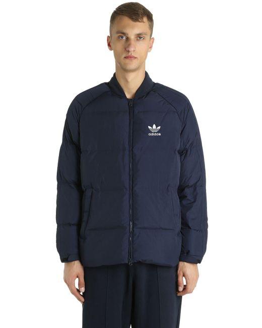 メンズ Adidas Originals Sst ボンバージャケット Blue