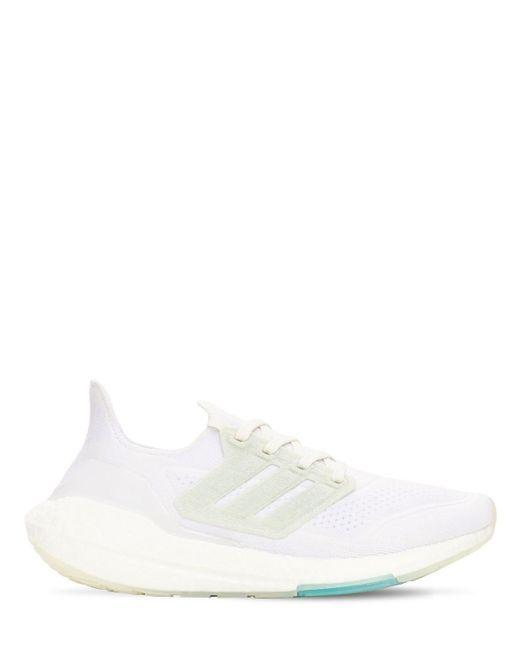 Кроссовки Ultraboost 21 Primeblue Adidas Originals для него, цвет: White