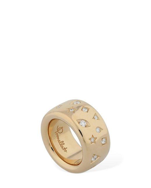 """18 K Et Diamants """"iconica"""" Pomellato en coloris Metallic"""