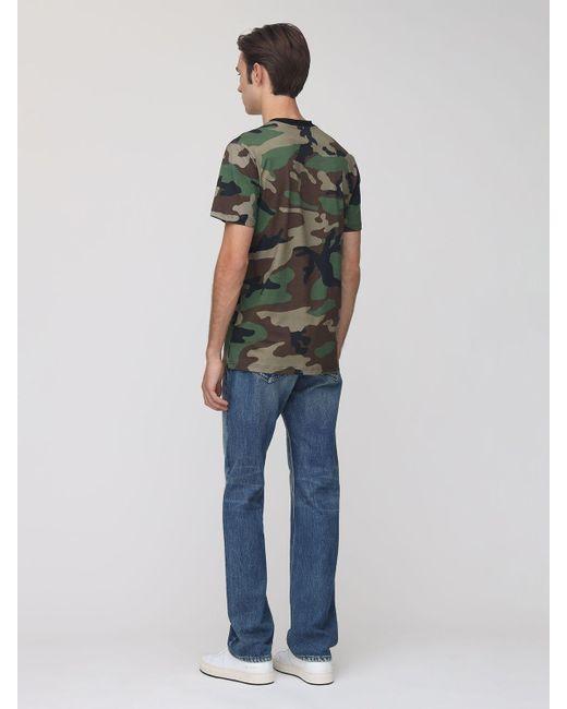 メンズ Moschino コットンtシャツ Green