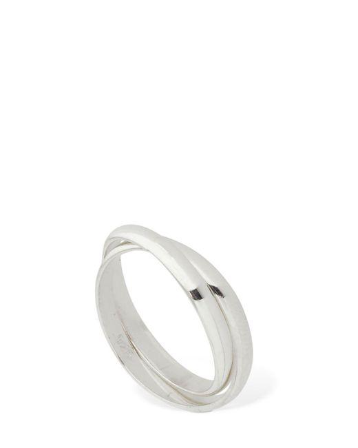 Sophie Buhai Metallic Double Toe Ring