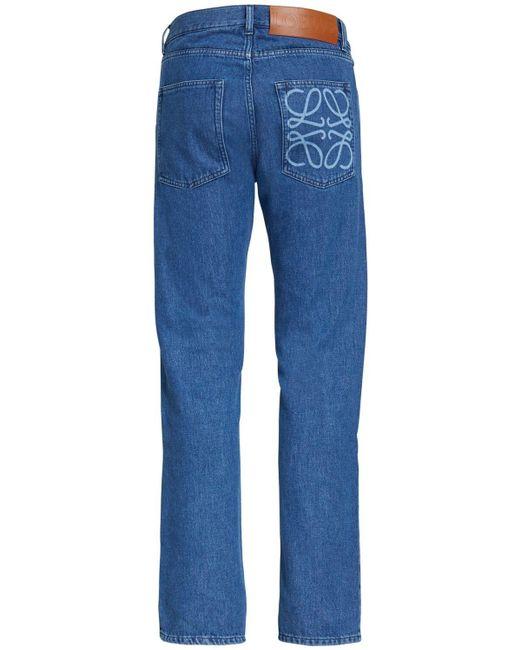 メンズ Loewe コットンデニムジーンズ Blue