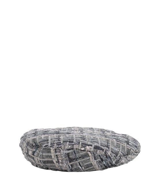 Eugenia Kim Cher ツイードベレー帽 Gray