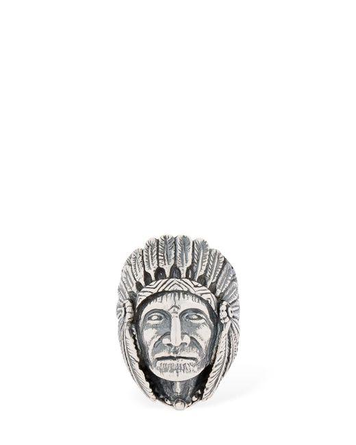 "Cantini Mc Firenze - Metallic Anillo ""great Indian Head"" for Men - Lyst"