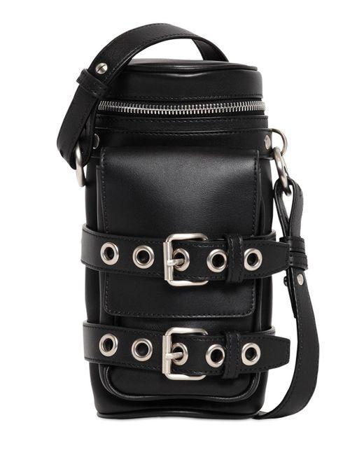 Сумка Кроссбоди Из Кожи Versace для него, цвет: Black