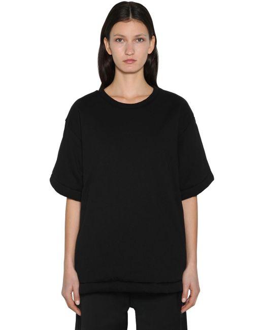 MM6 by Maison Martin Margiela オーバーサイズtシャツ Black
