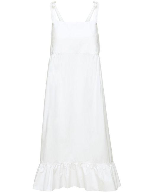Ночная Рубашка Из Хлопка The Sleep Shirt, цвет: White