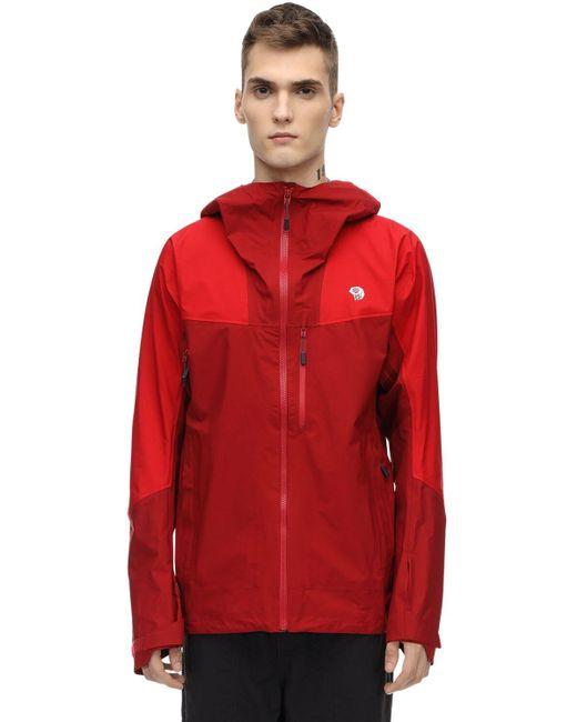 メンズ Mountain Hardwear Explosure2 Gore-tex Active Shellジャケット Red
