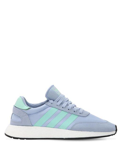 """Кроссовки """"i-5923 Boost"""" Adidas Originals, цвет: Purple"""
